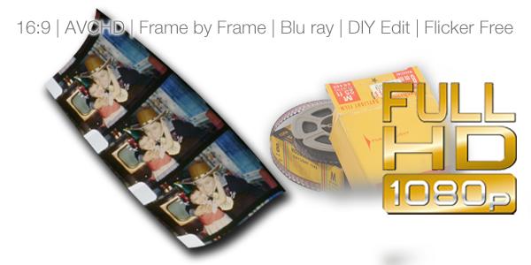 Hi Def film transfers
