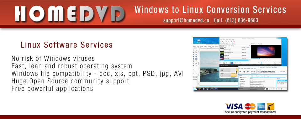 Windows to Linux Conversion Services